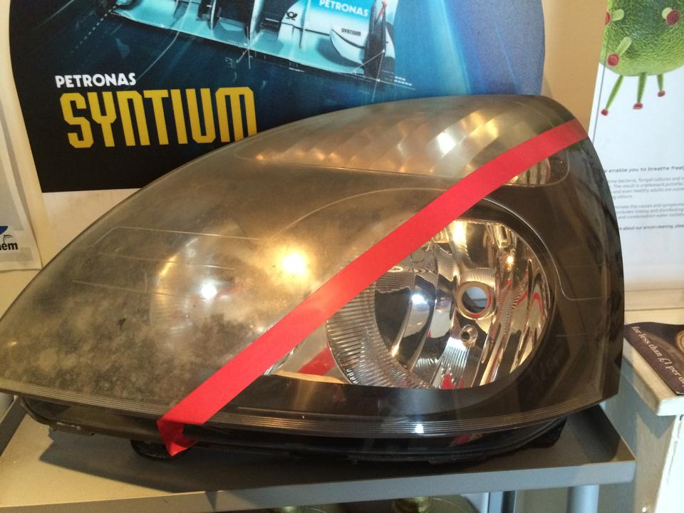 Head Lamp De-fogging